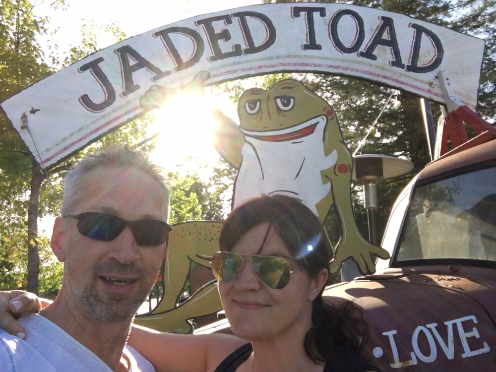 Jaded Toad BBQ and Grill, Windsor, CA.