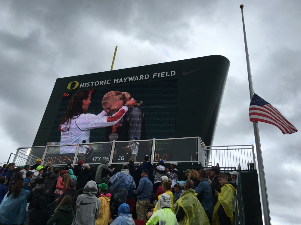 Hayward Field Flag