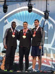 US Olympics Trials Hammer Throwers